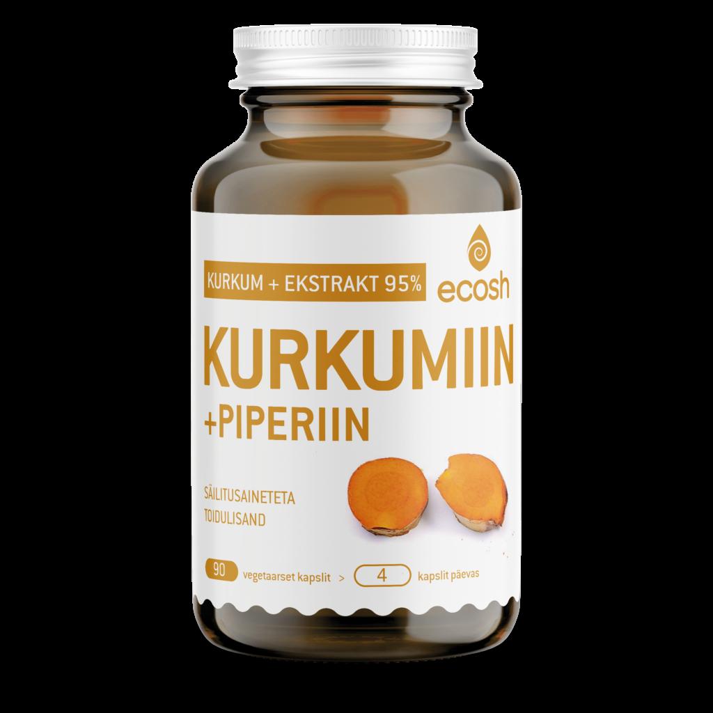 Куркумин+пиперин 95%