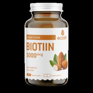 БИОТИН 5000 μг — витамин красоты