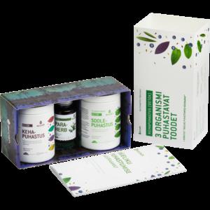 ПОЛНЫЙ КУРС ОЧИЩЕНИЯ ТЕЛА (Detox) – 3 продукта, очищающих организм + руководство
