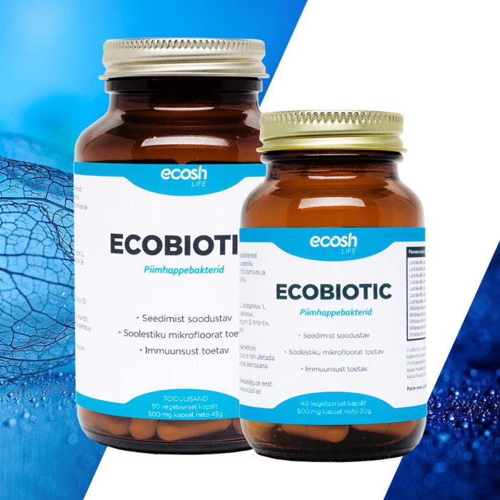 Ecobiotic probiootikumid