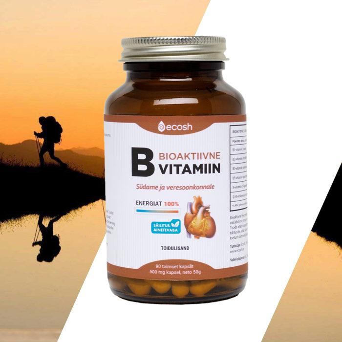 Bioaktiivne B vitamiin südamele + 100% energiat