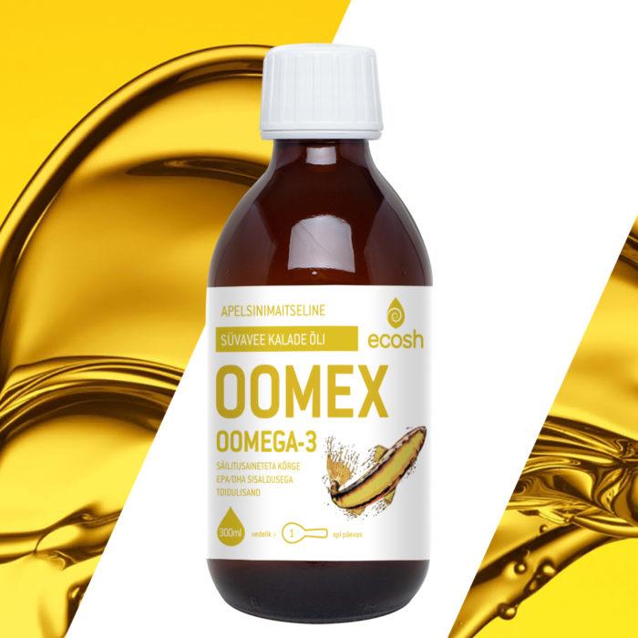 Oomega 3, Oomex apelsinimaitseline