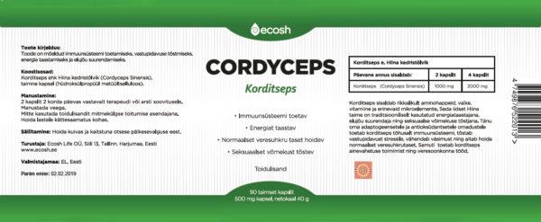 Cordyceps-kirjeldus