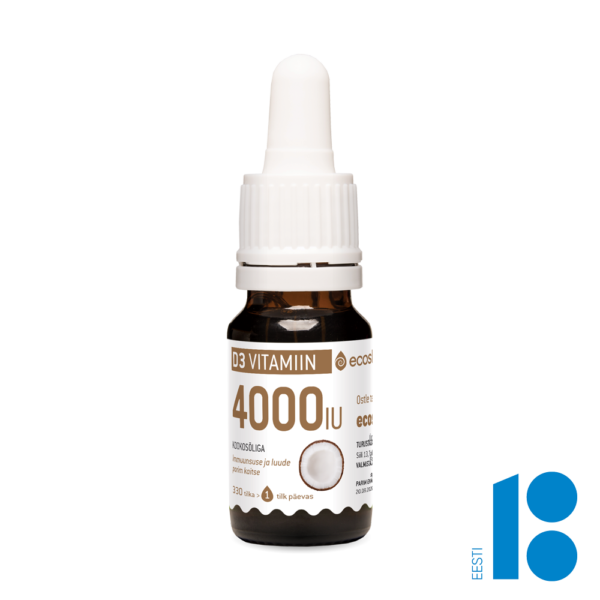 D3-Vitamiin 4000 kookos