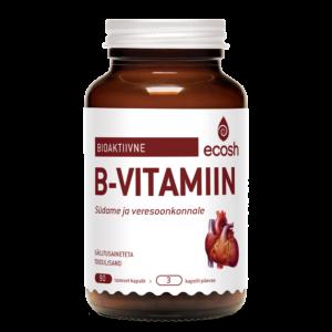 Bioaktiivne B vitamiin SÜDAMELE