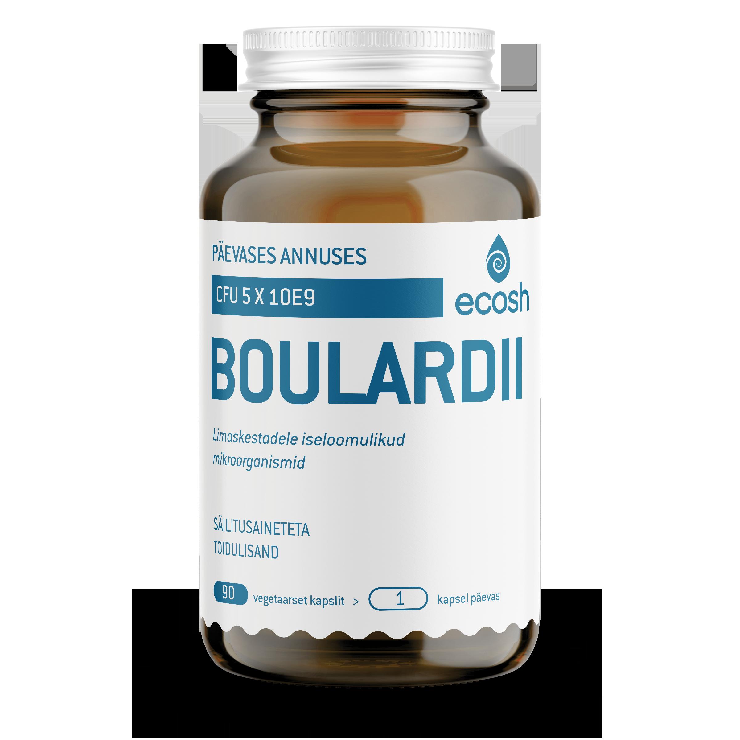 BOULARDII – 5 mld kapslis