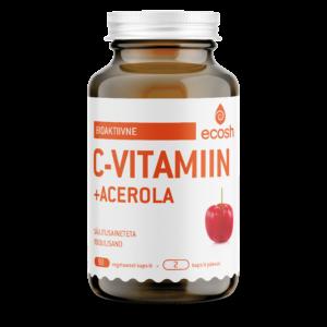 C-VITAMIIN ACEROLAGA – Bioaktiivne