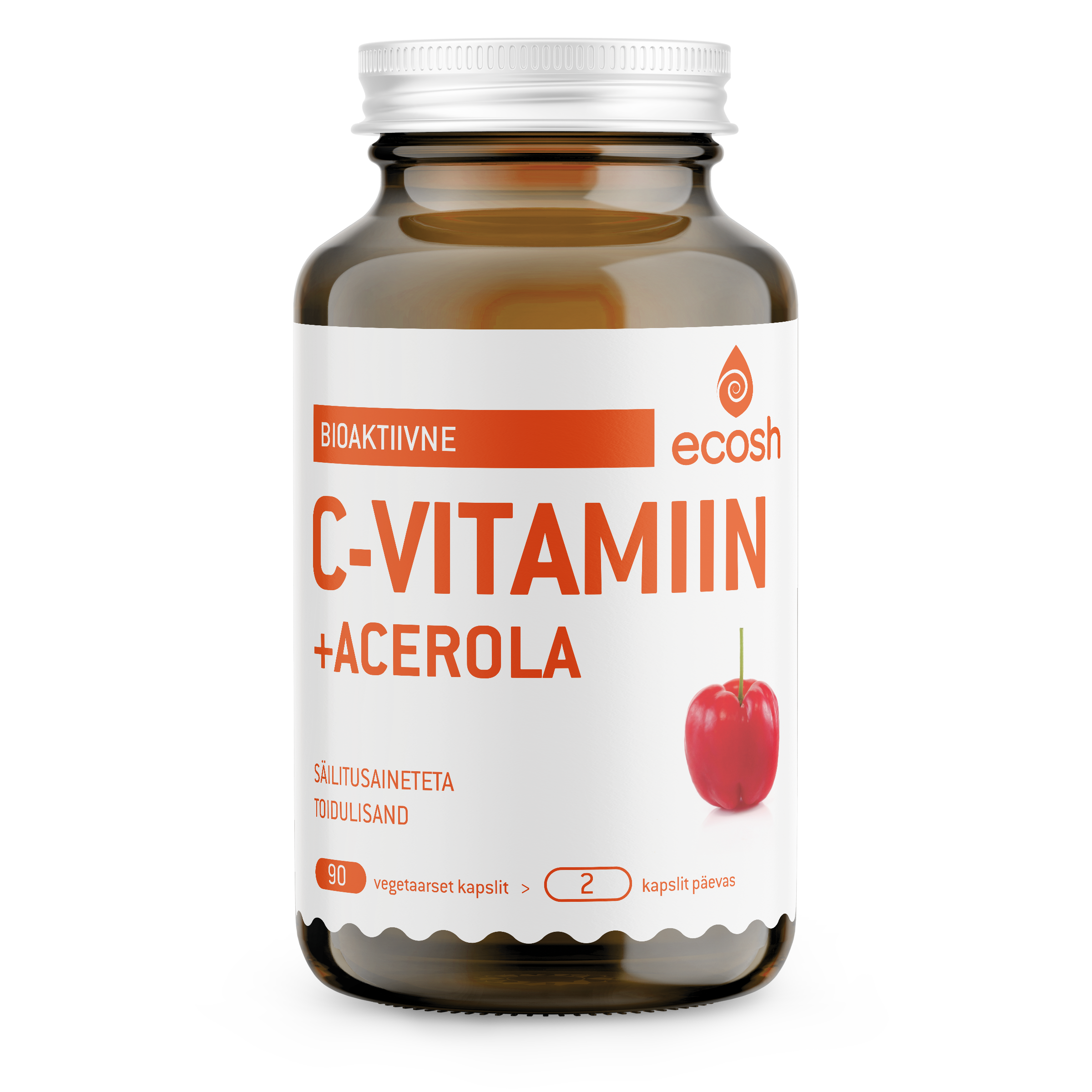 Bioaktiivne C-vitamiin Acerolaga