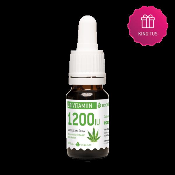 D3-Vitamiin 1200IU Kingitus