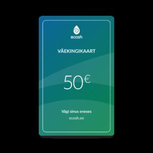 Väekingikaart 50€