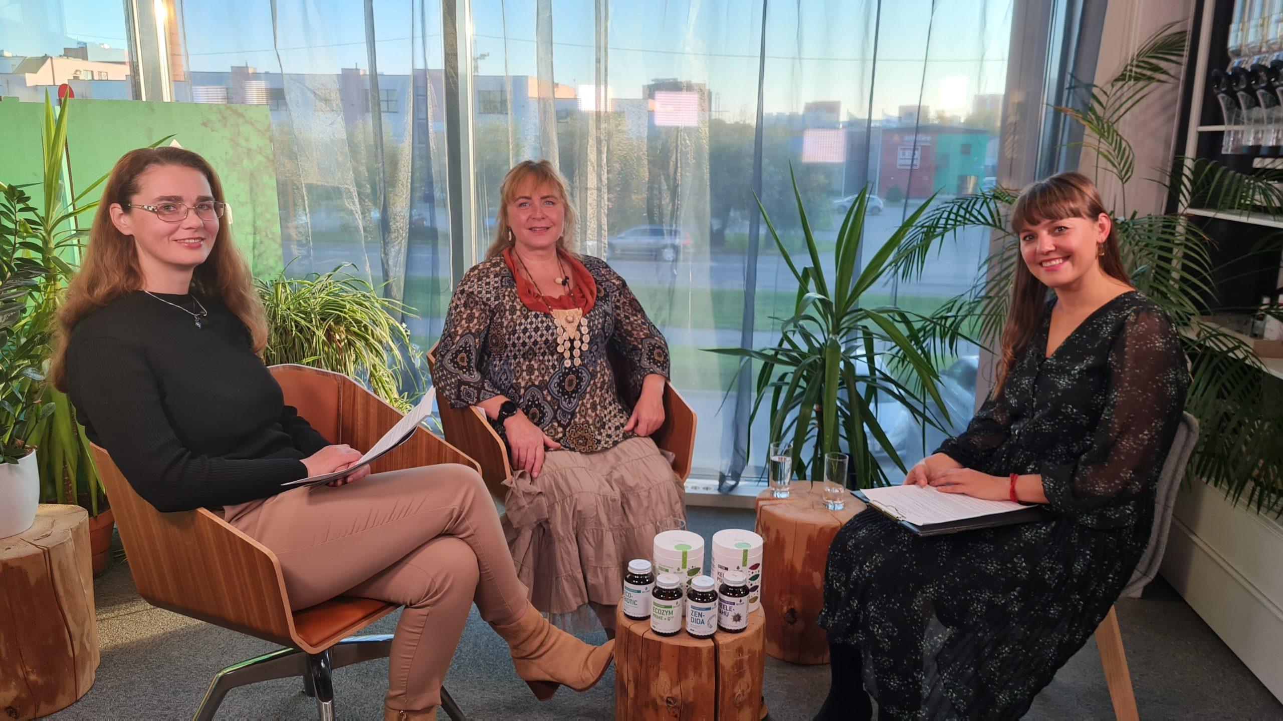 ECOSH TV: Pärmseene erisaade – Agnes Laine ja Angelika Somelar