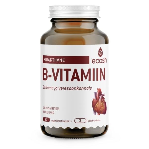 B-VITAMIIN SÜDAMELE – Bioaktiivne